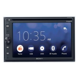 Sony XAV-AX200 (6.4 Inches [16.3 cm] ) | DVD Receiver with Android Auto and Apple Car Play