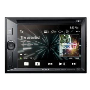 Sony XAV-AX200 (6.2 INCHES [15.7 cm] ) | DVD Receiver with Android Auto and Apple Car Play