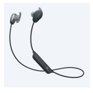 SONY WI-SP600N Sports Wireless Noise Cancelling In-ear Headphones (BLACK)