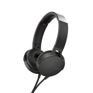 Sony MDR-XB550AP Extra Bass Wired Headphones (Black)