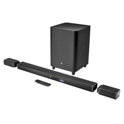 JBL Bar 5.1 Soundbar with True Wireles Speakers (Black)
