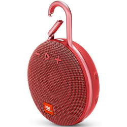 JBL Clip 3 Portable Bluetooth Speaker (Red)