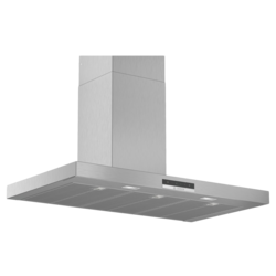 Bosch Serie 4 wall-mounted cooker hood90 cm Stainless steel DWB97DM50B