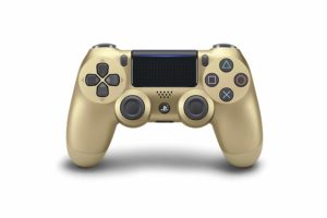SONY Dualshock 4 | Wireless Controller Bluetooth Game pad for PS4 [GOLD]