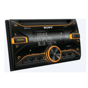 SONY [ WX-810UI ] | Double Din | CD/USB  Receiver with Bluetooth® Technology