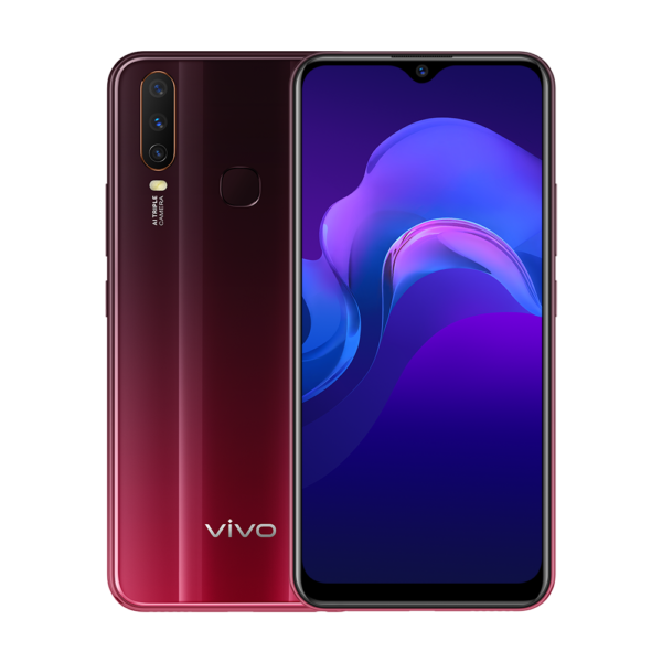 Vivo Y15 (Burgundy Red)