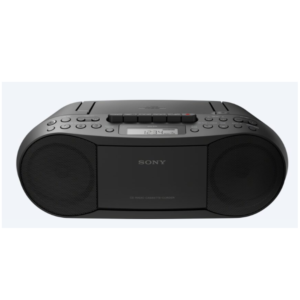 SONY CFD-S70 Boom Box  (Black)
