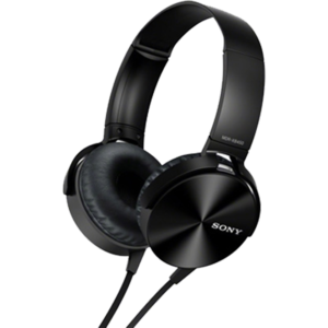 Sony MDR-XB450 Extra Bass Wired Headphones (Black)