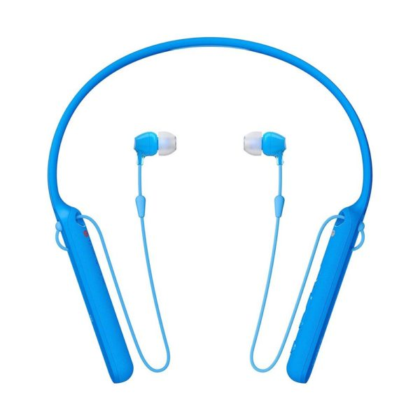 Sony WI-C400 In-ear Bluetooth Headset with Neckband (Blue)