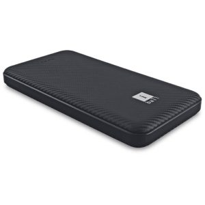 iBall 10000 mAh Power bank (IB-10000LP), Dual USB Output, Black