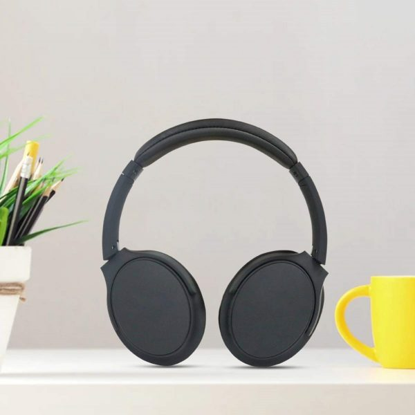 Molife Rave Plus Bluetooth 5.0 Wireless Headphone with HD Stereo Sound | Noise Isolation | Mic (Black)