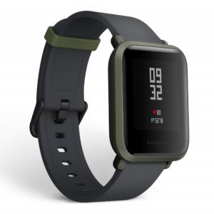 Amazfit Huami Bip Touch Screen Smartwatch A1608 (Kokoda Green)