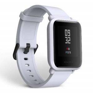 Amazfit Huami Bip Touch Screen Smartwatch A1608 (Cloud White)