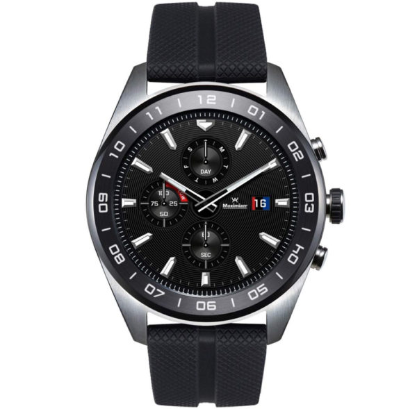 LG W7 Smartwatch with Swiss Effect WiFi (Multicolour Dial)