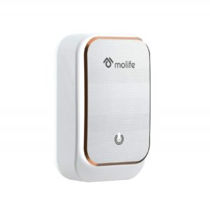 Molife Radiant 4.4 Smart Wall Charge Adapter with Ambience Light