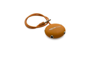 Boompods Multipod Audio Splitter -Orange