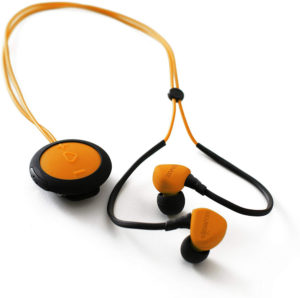 Boompods Sportpods Race in-Ear Bluetooth Sport Headphones, Wireless (Orange)