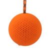 Boompods Rokpod Wireless/Bluetooth Portable Speaker | Shock Proof | IPX7 Water Proof Speaker (Orange)