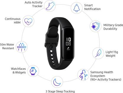 Samsung Galaxy Fit e - (SM-R375) - Black