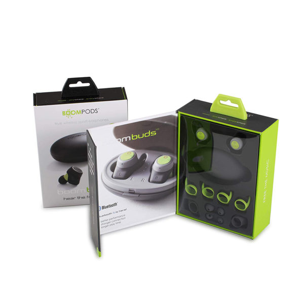 BBoompods BoomBuds Wireless Earphones (Gray)