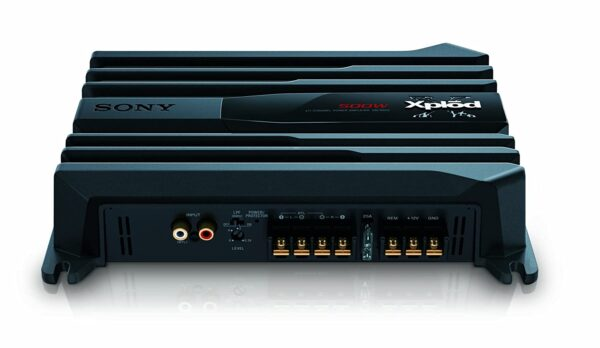 SONY XM-N502 2-Channel Stereo Amplifier, Black