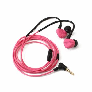 Boompods Sportpod Race Wired in-Ear Earphones with in-line Remote and Mic (Pink)