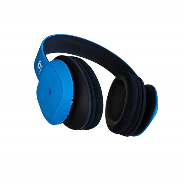 Molife Rave Over-Ear Wireless Headphones - Blue (MO-BTHP02)