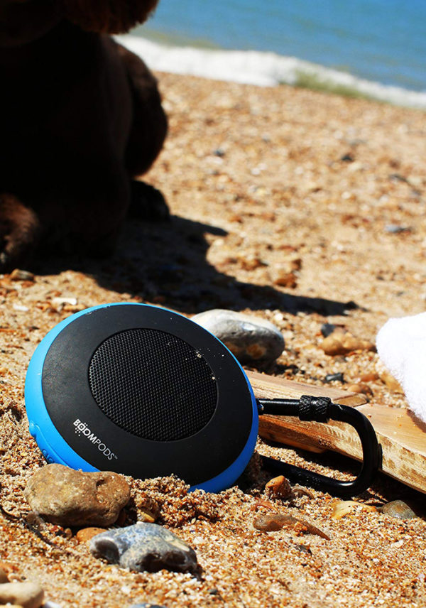 Boompods Aquapod Waterproof Bluetooth Speaker (Blue)