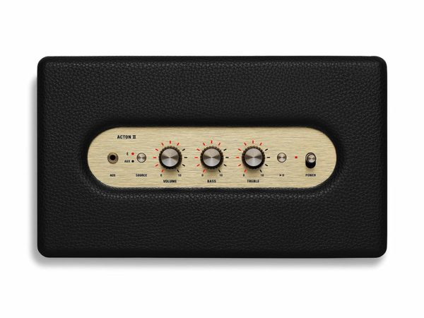 Marshall Action II Black Bluetooth Speaker