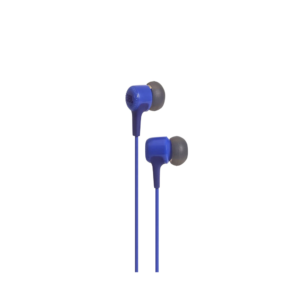 JBL E15 Wired Headset with mic (Blue)