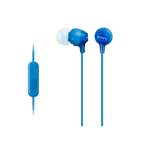 Sony MDR-EX15AP In-ear Wired Headset with...