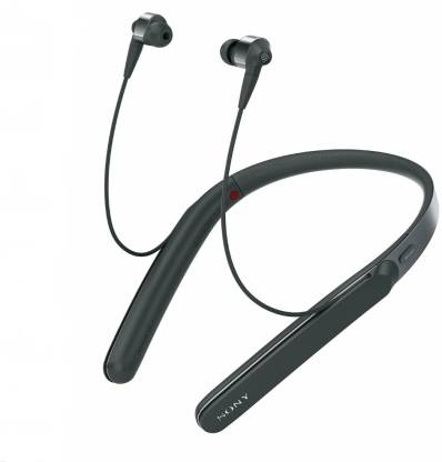 SONY WI-1000X | Noise Cancelling Headphones with Bluetooth & Neckband (BLACK)