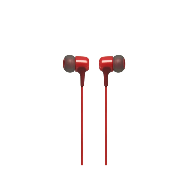 JBL E15 Wired Headset with mic (Red)