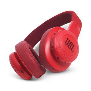 JBL E55BT Wireless Headphone- Red