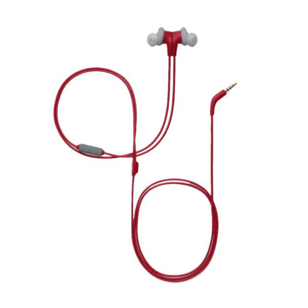 JBL Endurance Run Wired Headset with mic - Red