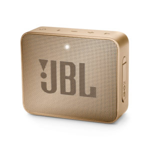 JBL GO 2 Portable Waterproof Bluetooth Speaker (Champagne)