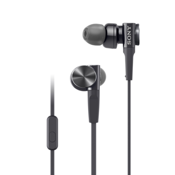 Sony MDR-XB75AP Extra Bass In-ear Wired Headset (Black)