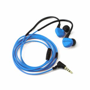 Boompods Sportpod Race Wired in-Ear Earphones with in-line Remote and Mic (Blue)