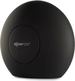 BoomPods Double Blaster Portable 2x2W Bluetooth Speaker (Black)
