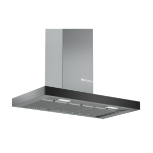 Bosch Serie 4 Wall mounted hoods 90 cm Stainless Steel DWB098G50I