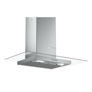 Serie 2 Wall mounted hoods 90 cm clear glass DWG098D50I