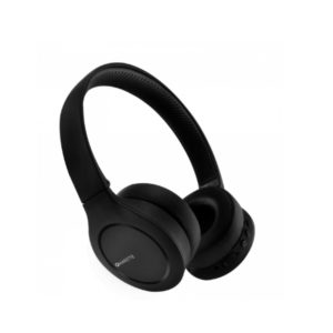 Amkette Urban OnEarz 450 Bluetooth Headphones with Foldable Design & Voice Assistant for All Smartphones (Dual Connectivity) (Opal Black)