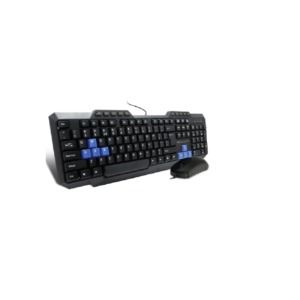 Amkette Xcite NEO USB Keyboard & Mouse Combo With Wire (Black)