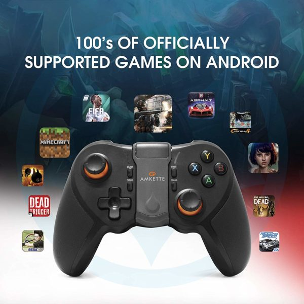 Amkette Evo Gamepad Pro 4 For Iphone And Android Smartphones With