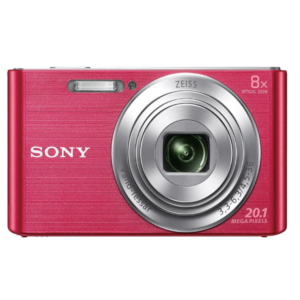 Sony CyberShot DSC-W830 With 20.1 MP and 8X Optical Zoom (Pink)