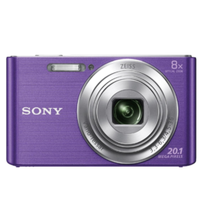 Sony CyberShot DSC-W830 With 20.1 MP and 8X Optical Zoom (Purple)