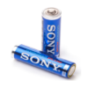 Sony AA Alkaline Battery Stamina Plus (12 Pack) [AM3-S12D, Blue]