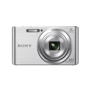 Sony CyberShot DSC-W830 With 20.1 MP and 8X Optical Zoom (Silver)