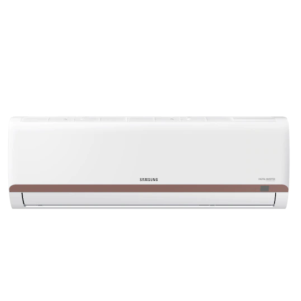 Samsung 1.5 Ton 3 Star Split Inverter AC (AR18TY3QBBR, White with Brown Strip)
