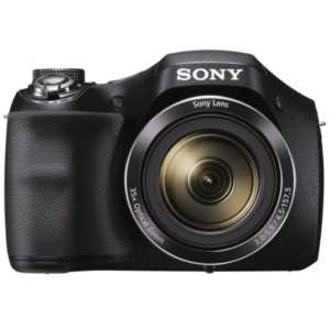 Sony CyberShot DSC-H300 With 20.1 MP and 35X Optical Zoom (Black)